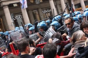 1 maggio scontri